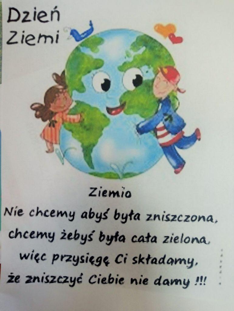 Zadbaj O Planetę Międzynarodowy Dzień Ziemi W Klubie Wega
