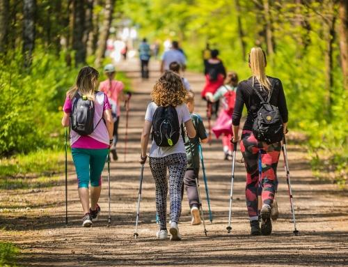 Wakacyjne treningi Nordic Walking – podsumowanie