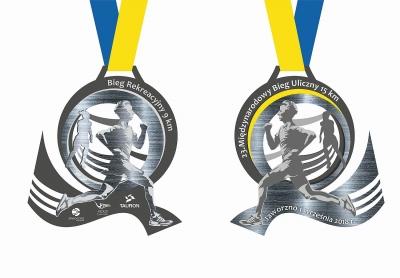 Międzynarodowy Bieg Uliczny - medal