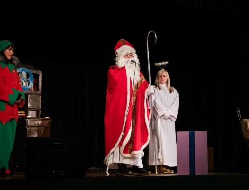 Spotkanie ze Świętym Mikołajem w Domu Kultury