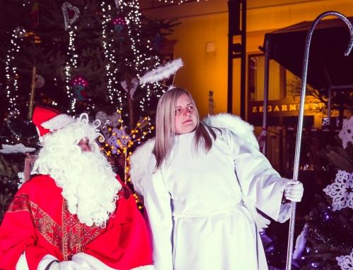 Sesja zdjęciowa z Mikołajem