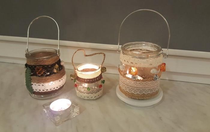 lampiony-świeczniki
