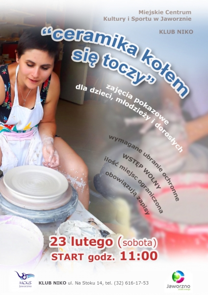 plakat-zajęcia-ceramiczne