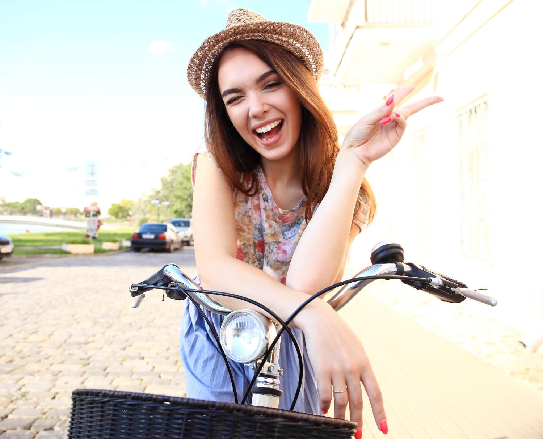 kobieta-na-rowerze