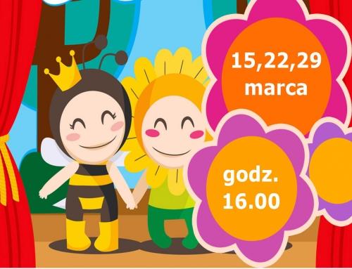 Wiosenne gawędy – warsztaty plastyczno-teatralne dla dzieci