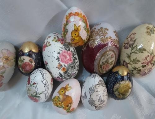 Rustykalne pisanki na Wielkanocny stół