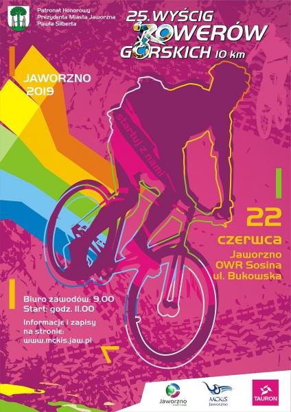 Wyścig Rowerów Górskich plakat