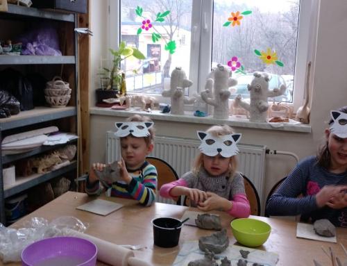 Ceramiczne koty dla KOTÓW z KOCIEJ
