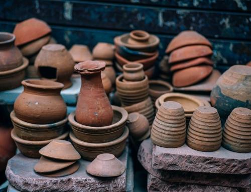 Ceramika jak za dawnych lat… Przygotowania do pierwszego wypału raku
