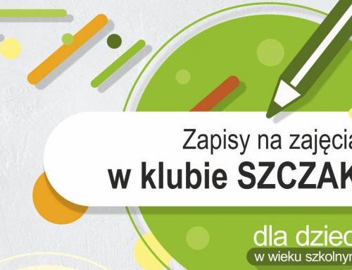 """Zajęcia stałe Klub """"Szczak"""""""