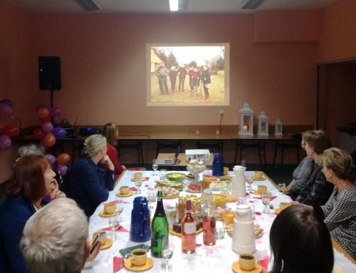 Spotkanie andrzejkowe grupy  Nordic Walking