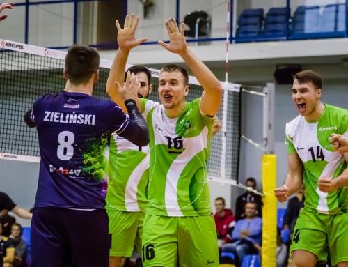 Siatkarze MCKiS Jaworzno w czubie ligowej tabeli!!