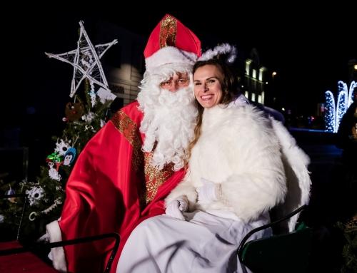 Święty Mikołaj odwiedził Jaworzno (galeria)