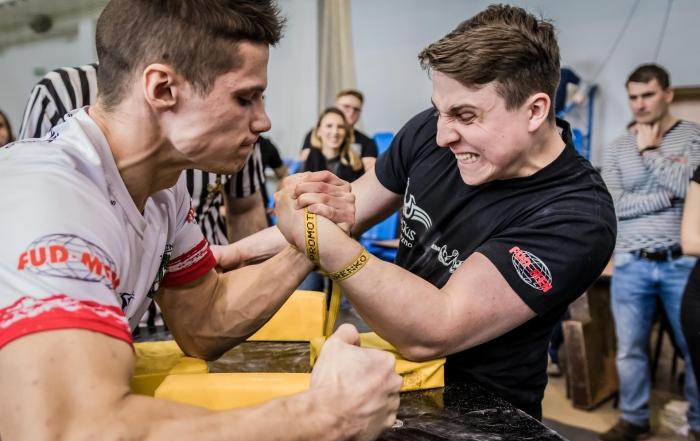 mistrzostwa szkół w armwrestlingu