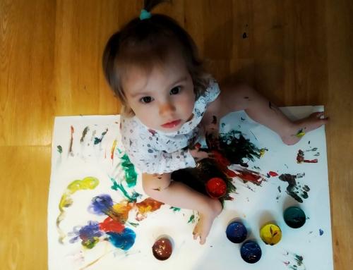 Domowe zajęcia z dzieckiem