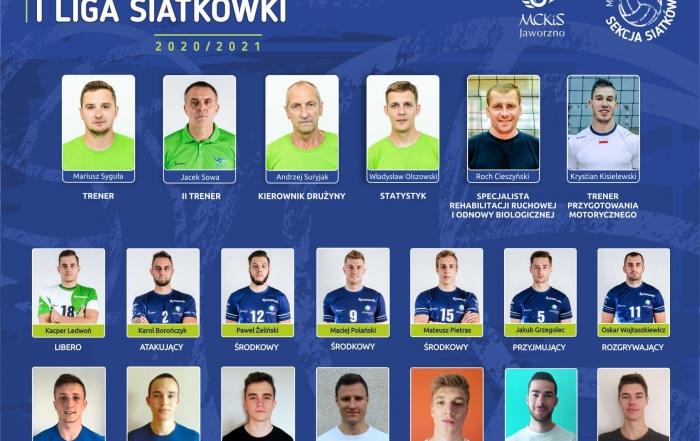 mckis-jaworzno-skład na sezon 2020-2021