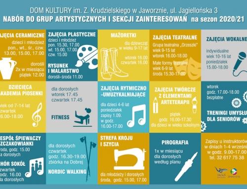 Zabawa, przyjemność, nauka… zapisy na zajęcia do Domu Kultury w Szczakowej
