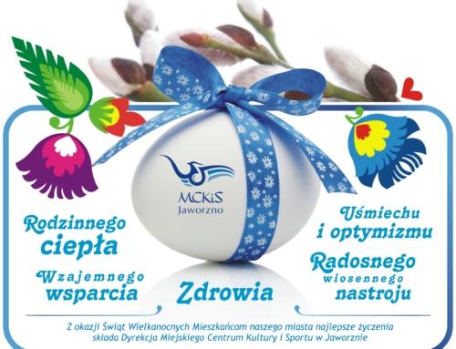 Zdrowej i spokojnej Wielkanocy!