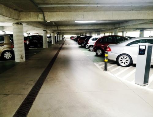System parkingowy znów działa